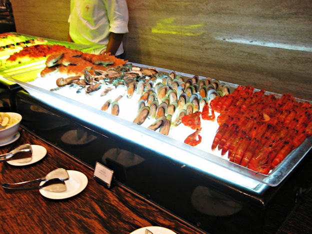 The Highlight Of This Buffet Has To Be Seafood Selection