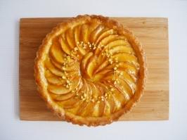 Homemade version of apple tart