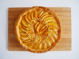 Homemade version of apple tart