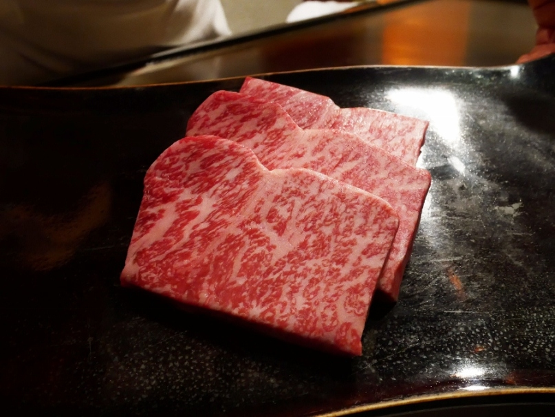 A5 Wagyu beef from Tottori Prefecture