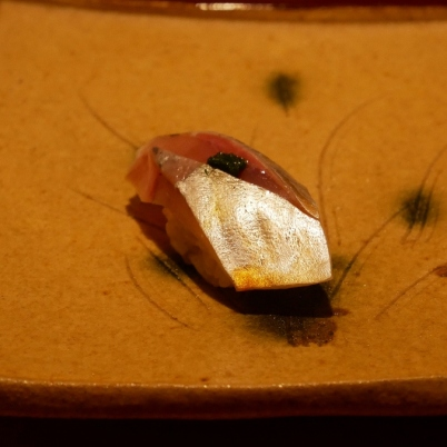 Horse Mackerel with green onion| Aji