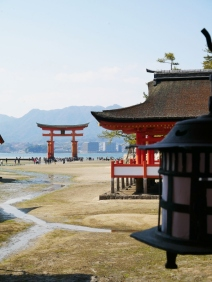 Itsukushima Shrine - low tide