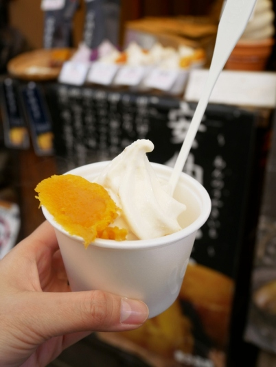 Sweet potato soft serve