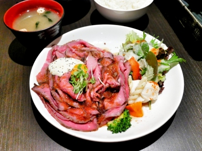Roast Beef Teishoku (L)