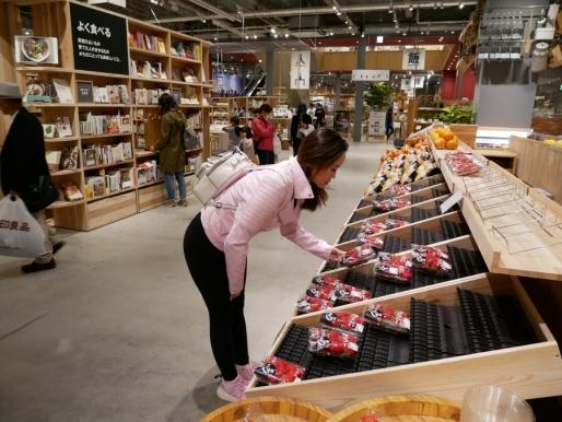 Strawberry shopping