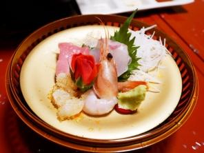 Raw dish: Sashimi