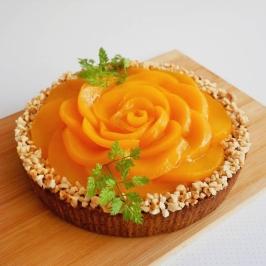 Peach Blossom Tart