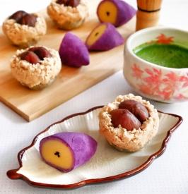 Kinton-igaguri & Satsumaimo 金団毬栗と薩摩芋