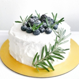 Berry Herby Shortcake