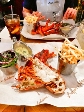 Grilled Lobster ฿1500