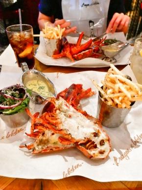 Grilled Lobster ฿1500