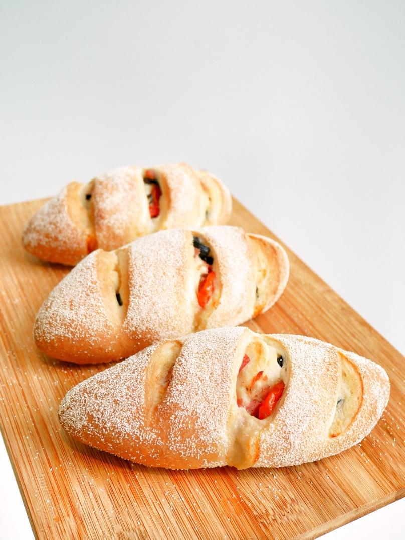 Wheaty Olive Bacon