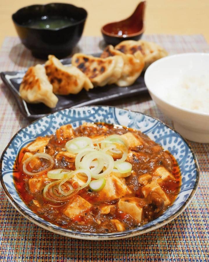 Mapo Tofu & Handmade Dumplings
