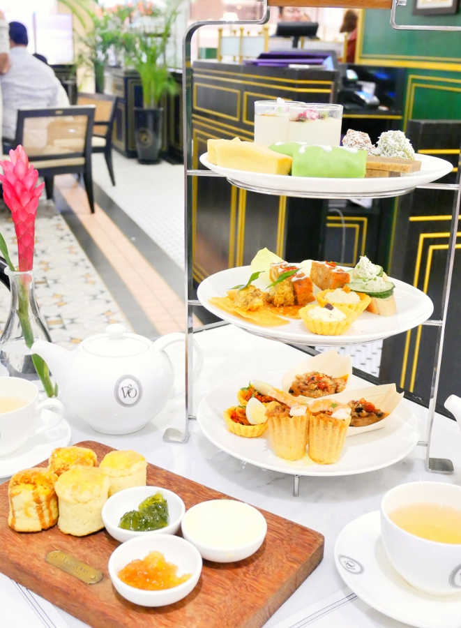 Singapore High Tea Set - $58++/ 2 pax