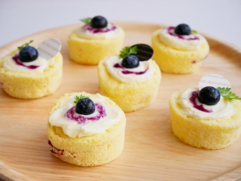 Berry Cheesy Souffle