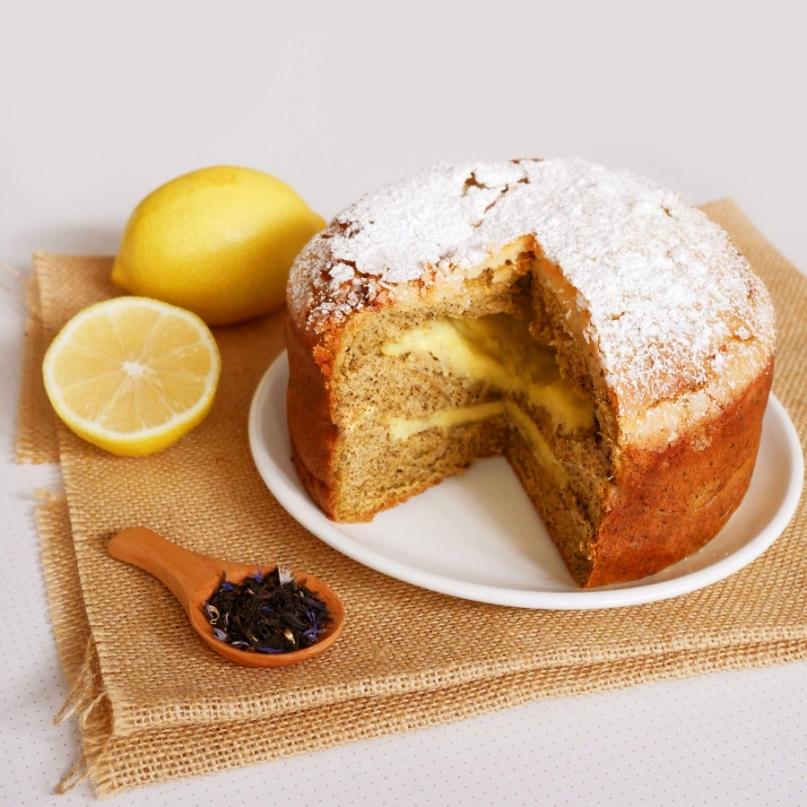 Lemon Tea Custard
