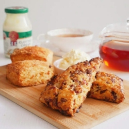Cranberry Chocolate & Cheese Scones
