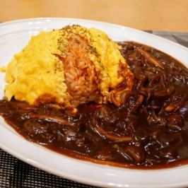 Omurice with Demi-glace Sauce