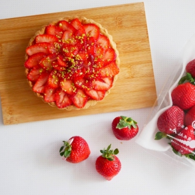 Amaou Strawberry Tart