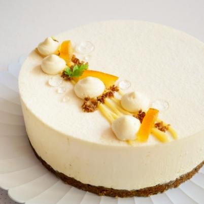 Yuzu White Chocolate Mousse