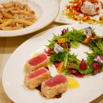 New Year's Luxury Italian Meal