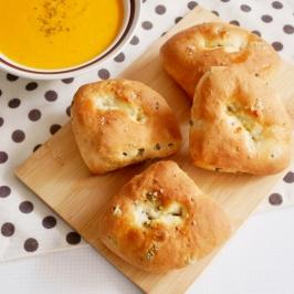 Olive Rock Salt Bread