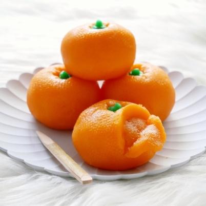 Mikan Nerikiri (Chinese New Year)
