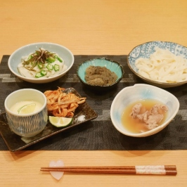 Handmade Udon Served in 2 Styles
